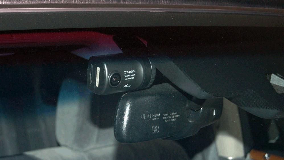 ドライブレコーダーの設置